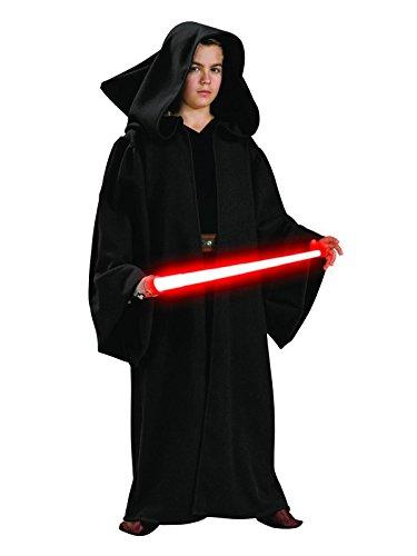 Star Wars Sith Robe Kinderkostüm - M - ca. - Kinder Deluxe Mit Kapuze Sith Robe Kostüm