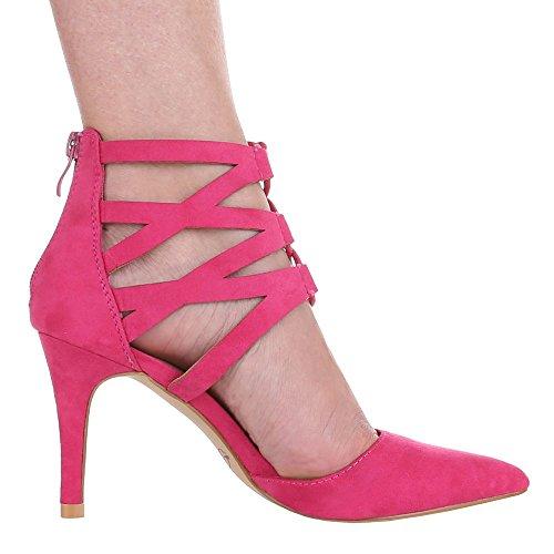 Ital-design - Chaussures À Talons Roses Pour Femmes (rose)