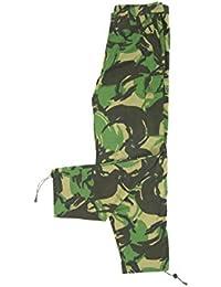 BE-X Leichte Feldhose -BCU- mit 5 Taschen, aus RipStop Gewebe - Woodland DPM