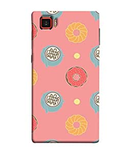 PrintVisa Designer Back Case Cover for Lenovo Vibe Z2 Pro :: Lenovo K920 :: Lenovo Vibe Z2 Pro K920 (Animated donut food noodles patterns)