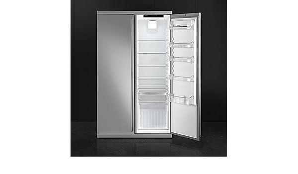 Smeg Kühlschrank Biofresh : Smeg rf354rx 174 cm stand kühlgerät eek a : amazon.de: elektro