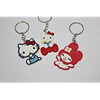 5b9950e468 Amazon.co.uk  Hello Kitty - Keyrings   Cosmetics   Jewellery  Toys ...