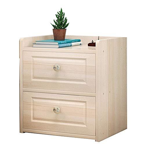 Bücherregal YNN Nachttisch Sundries Schrank Locker Nachttisch mit Schublade Weiß Ahorn Farbe (Color : Maple Color) -