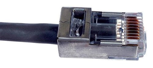 Cat5e-tool (Platinum Tools 100020C EZ-RJ45 Shielded Cat5e/6, (Internal Ground). 50/Clamshell.(Pack of 50) by Platinum Tools)
