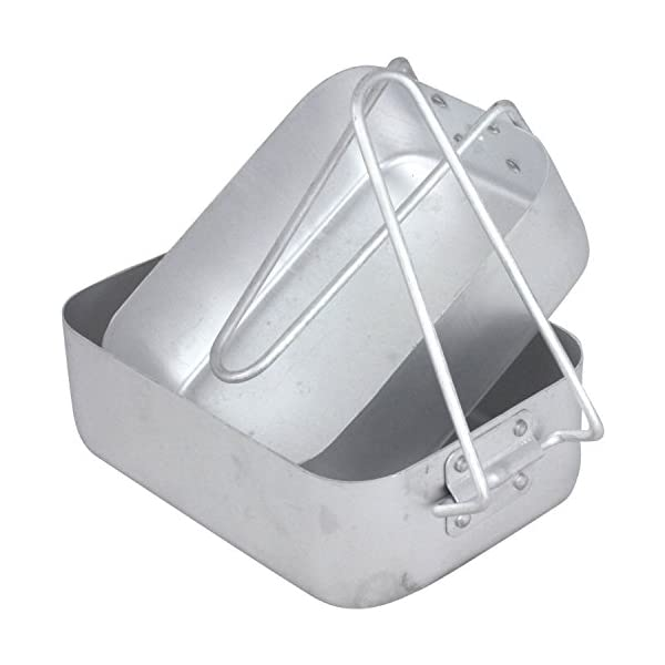 Mil-Com MESET Mess Tin Set 2 Pieces Aluminium 1