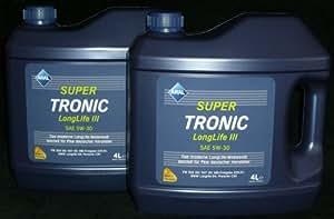 ARAL SuperTronics Longlife III 5W-30 Motorenöl , 8 Liter (2X4L)