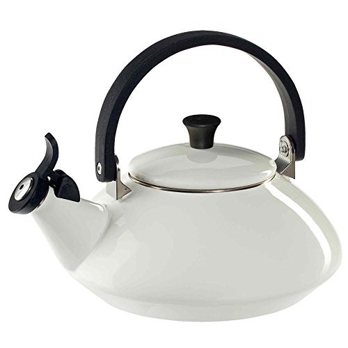 Le Creuset – 92009600010000 – Zen Whistling Kettle – White – 1.5 L