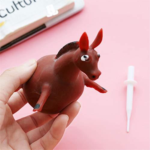 Spielzeuge,TPR Schlag Tierwellen-Ball-Spannungsabbau spielt aufblasbaren Gummiball Spielzeuge Geeignet für Home Office (B) ()