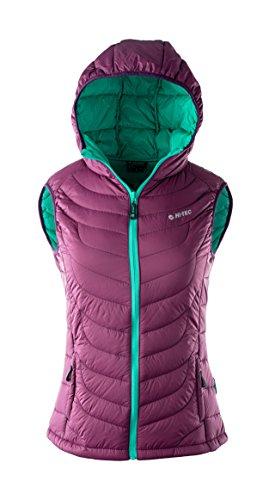 Hi-Tec Damen Lady Neri Padded Vest Amaranth/Sharp Green/Plum Purple