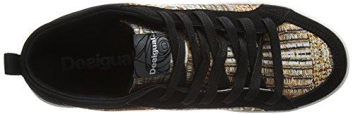 Desigual Classic Mid G, Chaussures de Fitness Femme Or (Dorado8010)