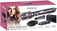 Babyliss Ceramic Rotating Ionic Air Brush 1000 Watts with Paddle Brush