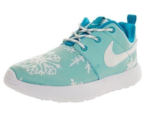 Nike Bambina Roshe One Print (Ps) scarpe sportive Blu / Bianco / Blu (Copa / White-Blue Lagoon)