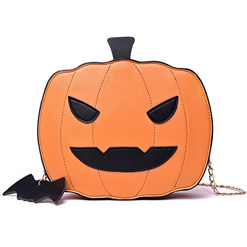 JklausTap Kids 'Party Bags, Halloween, Kostüm & Accessoires, Kürbis Handtasche, Halloween Candy Bag Little Devil Shoulder Messenger Bag (Einzigartige Easy Halloween Kostüm)