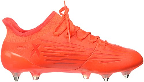 adidas X 16.1 Sg, Chaussures de foot homme Orange (Solar Red/Silver Metallic/Hi/Res Red)