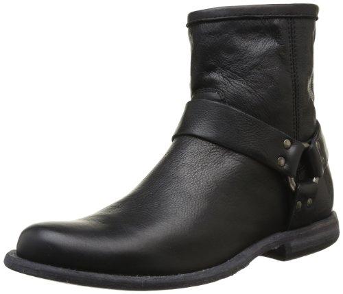 frye-herrenschuhe-boots-phillip-harness-black-grosse44
