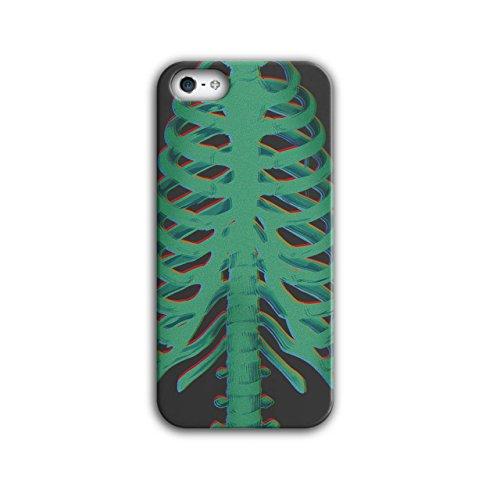 Skelett Schädel Rippe Käfig Kostüm iPhone 5 / 5S Hülle | Wellcoda