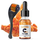 SunPrive Vitamin C Serum 20% with Hyaluronic Acid - Powerful Anti Aging
