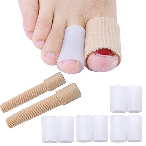 Separatore per le dita dei piedi, antiscivolo, tutore per le dita a martello.