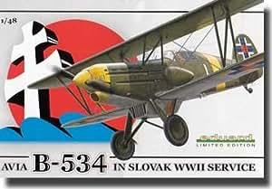 Eduard Plastic Kits 1146 - Avia B-534 in Slovak WWII service