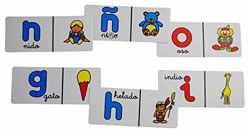 HenBea - Dominó del alfabeto en castellano (837)