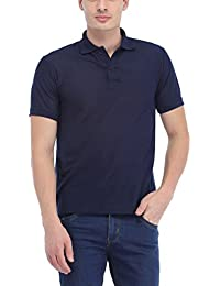 Trendy Trotters Navy Polo Cotton T-Shirt