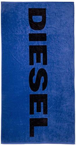 Asciugamano telo mare diesel asciugamano helleri, telo mare 90cmx180cm, stampa logo: colour: blue