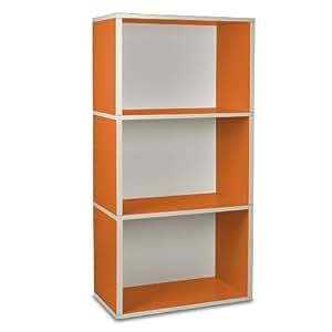 Way Basics Rectangle Plus 3 (Orange) +++Möbel aus 99% Recyclingpapier+++ bei cubicat