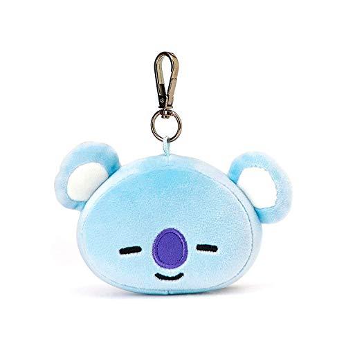 (boogift BT21 Offizielle BTS-Merchandise mit Linie Freunde - Charakter-Puppe-Schlüsselanhänger Nette Handtaschen Zubehör (entworfen von Bangtan Boys) Klein Shooky (Koya))