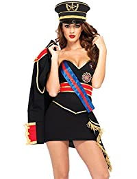 Sexy Diva Dictator Costume for Women