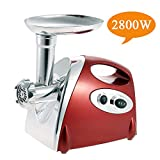 Electric Meat Grinder and Duty Household Sausage Maker Meats Mincer Food Grinding Mincing