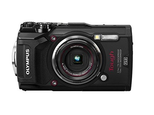 Olympus TG-5 Waterproof Camera with 3-Inch LCD, Black (V104190BU000)