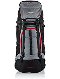 Northland Professional Kailash - Mochila, color negro / gris claro / rojo, 70+10 l / 2.650 g