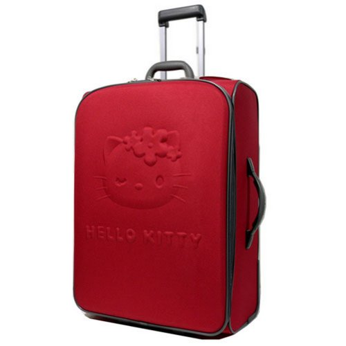 Grande valise rouge Hello Kitty by Camomilla