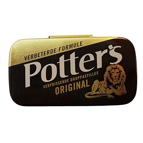 Potters Original Lakritz pastillen 12,5 g - Original Lakritz