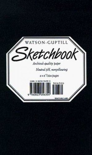 (Large Sketchbook (Kivar, Black)) By Watson-Guptill Publishing (Author) Hardcover on 01-Mar-1996