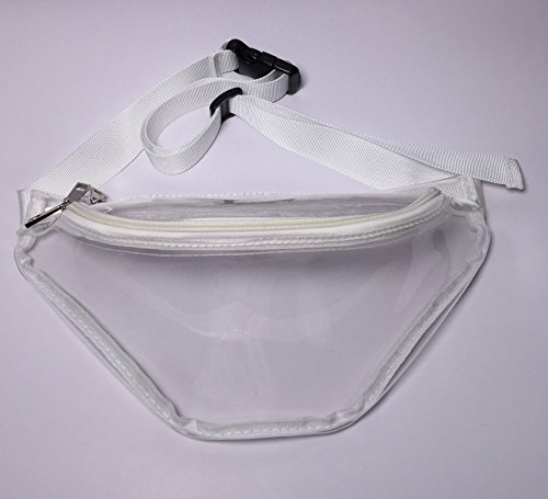 Flada, Borsa Da Donna A Spalla Stile Bianco 1 M Stile Trasparente 6