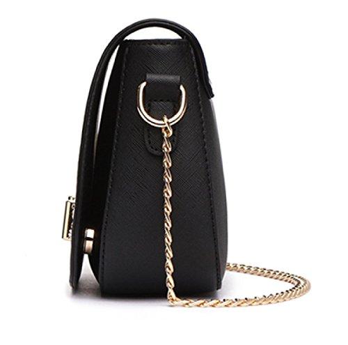 Sacchetto Della Catena Del Sacchetto Del Messaggero Della Spalla Sacchetto Delle Donne Sacchetto Della Mini FashionGray-leather