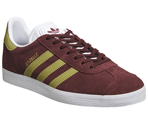 adidas Men's Gazelle Fitness Shoes, Red (Buruni / Dormet / Ftwbla), 8...