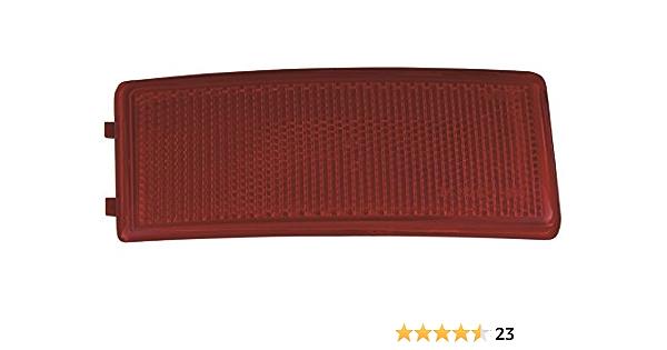 Catarifrangente paraurti posteriore Lente rossa sinistra e destra 2 pezzi 26561JE20A Misura per Qashqai 2007-2015