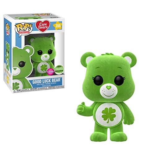 Animation: Care Bears Funko Pop! - 28472 Glücksbärchi(Flocked Edition) - Vinyl Figur, 9cm