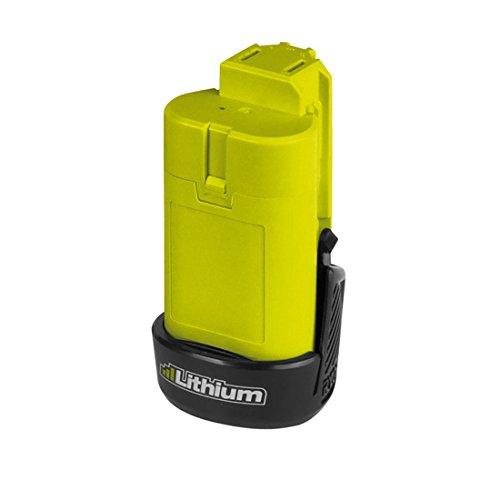 Ryobi 5133001732 Kompakt-Akku 12 V/1.3 Ah Lithium+ Typ BSPL1213, Schwarz, Grün