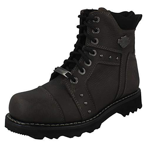 Harley Davidson ,  Damen Biker Boots, Grau - grau - Größe: EU 39 (Davidson Harley Damen Stiefel)