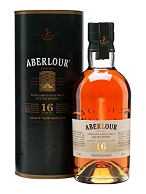 Aberlour 16 Year Old Double Cask Single Malt Scotch Whisky 70cl Bottle