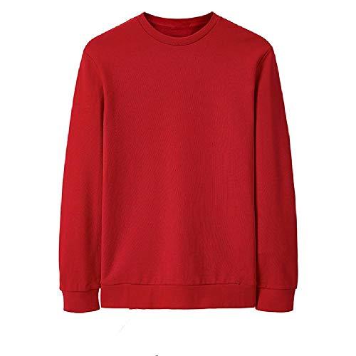 Jersey de algodón con Cuello Redondo para Hombre