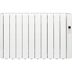 Gabarrón RKS10Hi Emisor de inercia térmica, sin fluido, digital, 1250 W, Blanco RAL9010