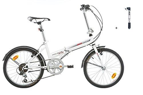Klapprad Fahrrad Bikesport FOLDING 20 Zoll Shimano 6 GANG + BETO PUMP CRH-006 LIEFERUNG VOR WEIHNACHTEN, 4-6 Werktage