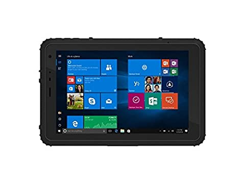Vanquisher 8-Zoll IP67 Rugged Tablet PC, Windows 10 / Intel Quad Core Prozessor / U-blox (1 Posteriore Finestra Grafica)