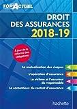 Telecharger Livres Top Actuel Droit des assurances 2018 2019 (PDF,EPUB,MOBI) gratuits en Francaise
