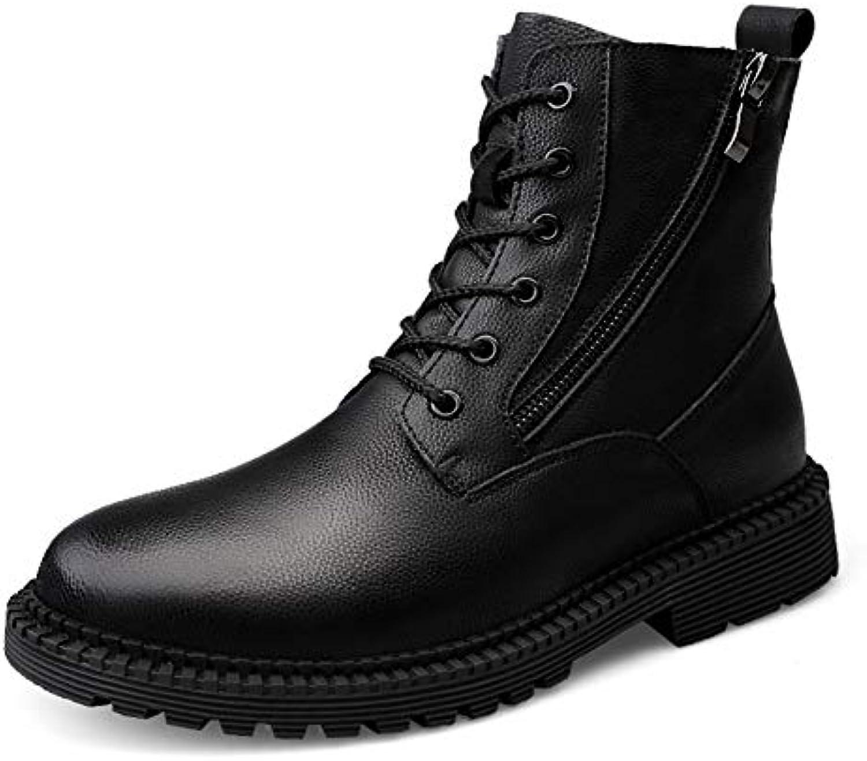 Chaussures Chaussures Chaussures pour hommes Bottes pour hommes, ran ée en plein air Martin Bottes de mode Chaussures pour hommes... 23daa2