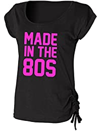 Made In The 80s Ladies Drawstring Top